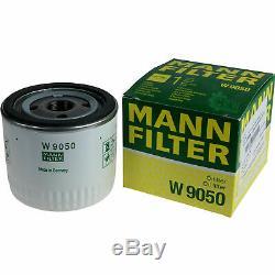 10x Original Mann Filtre à Huile W 9050+10x Sct Moteur Flush Rinçage de Moteur