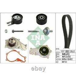 1 Pompe à eau + kit de courroie de distribution INA 530 0375 30 convient à FIAT