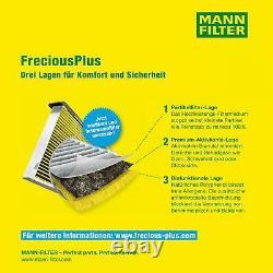 3x Mann Filtre Filtre D'Habitacle mannol Filtre à Air Ford Focus Choucas Dbw 1.4