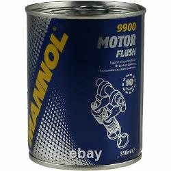 40x Original Sct Filtre à Huile Sm 107/1+40x Sct Moteur Flush Rinçage de Moteur