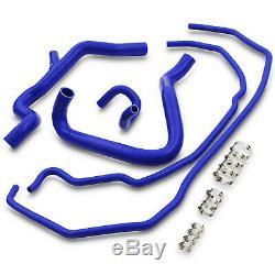 5pc Silicone Moteur Radiateur Kit Flexible Pipe Pour Ford Focus Mk2 St225