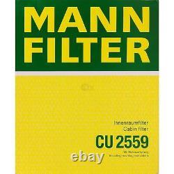 5x Mann Filtre Filtre D'Habitacle mannol Filtre à Air Ford Mondeo IV Break