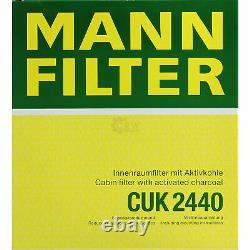 5x Mann Filtre Filtre D'Habitacle mannol Filtre à Air Volvo C30 C70 Cabriolet