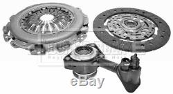 Borg & Beck Kit Embrayage 3-In-1 + Csc HKT1149 Véritable 5 An Garantie