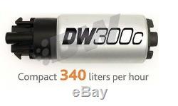 Deatschwerks DW300c 340LPH Compact Pompe à Carburant dans le Réservoir avec Kit