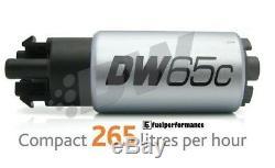 Deatschwerks DW65c 265LPH Compact Pompe à Carburant & Subaru Installation Kit