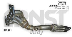 ERNST Collecteur, système d'échappement Kit (341851) par ex. Pour Ford