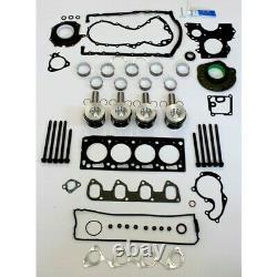 Ford 1.8 TDCI Kit Reconstruction Moteur Avec 0.50mm Surdimensionné Pistons