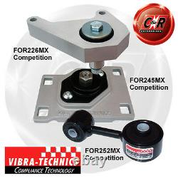 Ford Focus (98-04) ST170, Svt Vibra Technics Complet Support Moteur Course Kit