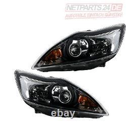 Ford Focus Xenon H1 Noir Phares Comme Lot Lin. Et Droite, 02/08-01/11