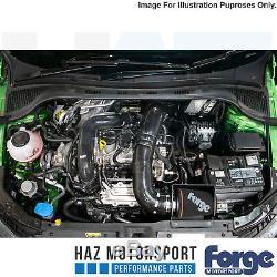 Forge Motorsport Kit D'Induction D'Admission + Noir Tuyau pour Skoda Fabia 1.0