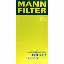 Huile moteur 5L MANNOL 5W-30 Break Ll + Mann-Filter Ford Focus Daw Dbw 1.6