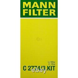 Huile moteur 5L MANNOL 5W-30 Break Ll + Mann-Filter Ford Focus Daw Dbw 1.6 16V