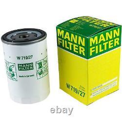 Huile moteur 5L MANNOL 5W-30 Break Ll + Mann Filtre Luft Ford Focus Daw Dbw