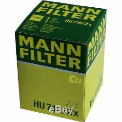 Huile moteur 5L MANNOL Diesel Tdi 5W-30 + Mann-Filter Ford Focus III Turnier