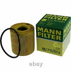Huile moteur 6L MANNOL Diesel Tdi 5W-30 + Mann-Filter filtre Ford Focus