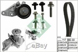 INA Pompe à eau + kit de courroie distribution (530 0140 30)
