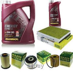 Inspection Set MANNOL 6 L Energy Combi Ll 5W-30 + Mann filtre 10922203