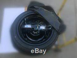 KIT roue de secours galette 16'' pour FORD FOCUS AVEC CRIC CLE ET sac 61x14cm