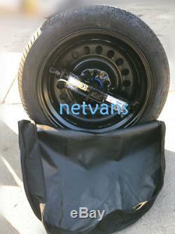 KIT roue de secours (galette) 17'' pour FORD FOCUS AVEC CRIC CLE ET SAC