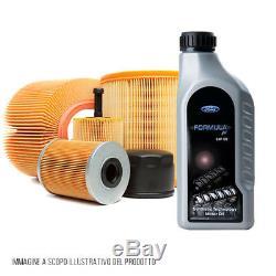 Kit D'Entretien 4 Filtres + Huile 5W30 Volvo V50 1.6 D 81 Kw 110 Cv KF0033 / Fo