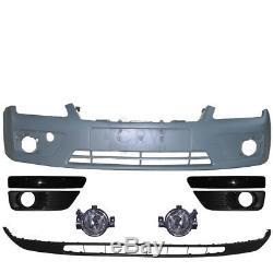 Kit Pare-Chocs avant Peignable+Brouillard+Accessoire Ford Focus II Année Fab