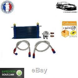 Kit Radiateur d'Huile 10 Rangées avec Durites pour Ford Focus RS/ST