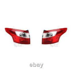 Lumière Arrière LED Feu Extérieur Kit pour Ford Focus III Break 04/11-09/14