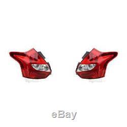 Lumière Arrière LED Kit Feux Arrières Gauche Droite pour Ford Focus III