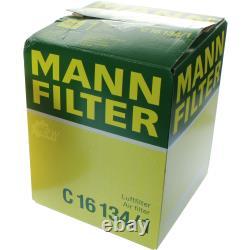 MANNOL 5L Energy Premium 5W-30 + Mann-Filter filtre Mazda 3 Bl 1.6 Mzr-Cd