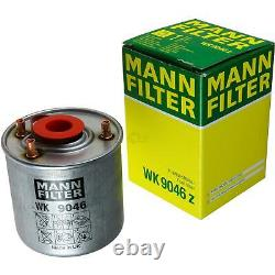 MANNOL 5 L Extreme 5W-40 huile moteur + Mann-Filter filtre Ford Tournoi
