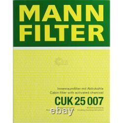 MANNOL 6L Nano Tech 10W-40 huile moteur + Mann-Filter Pour filtre Ford Focus