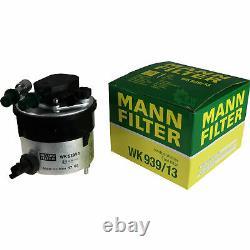 MANN-FILTER Set Air Intérieur Huile Carburant Ford Focus