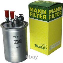 MANN-FILTER Set Ford Focus Break Dnw 1.8 Turbo Di / Tddi Berline Dfw P65