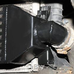 Noir 600x145x65 Avant Mount Intercooler Fmic Kit Pour Ford Focus Rs 225 St225 St