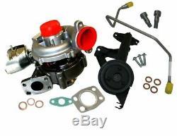 Peugeot 307 407 Turbo Turbocompresseur 1.6 HDI 110PS Et Fixation Kit