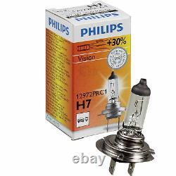 Phares Kit Ford Focus II Da Année Fab. 08-11 Incl. Philips H7+H1+Moteurs Noir