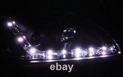Phares Kit Ford Focus MK2 Lumière de Circulation Diurne Aspect Feux Noir Lwr