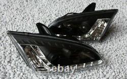 Phares Kit Ford Focus MK2 Lumière de Circulation Diurne Aspect Feux Noir Top
