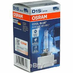 Phares Xénon Kit D1S/H1 pour Ford Focus II Da Sécurité Dp Incl. Osram Lampes
