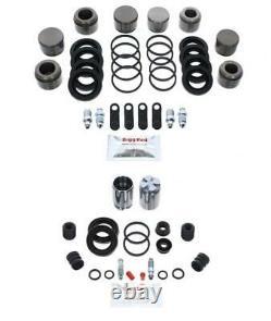 Pour Ford Focus Rs avant & Arrière Kit Réparation Étrier Frein + Pistons FK39