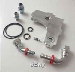 Pro Alloy Huile Reniflard Boîtier Kit Plaque LIDFFOCMK2 Pour Ford Focus Rs Mk2