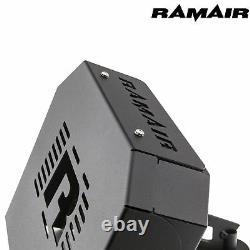 RAMAIR Ford Focus ST225 MK2 Groupe A Cône Bleu Air Filtre Kit Et Écu Support Box