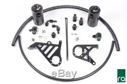 Radium Engineering Double Catch Can Kit pour 2016 + Ford Focus Rs