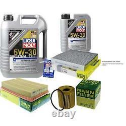 Révision D'Filtre LIQUI MOLY Huile 6L 5W-30 pour Volvo V50 Mw 2.0 D C30 Laiton