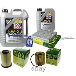 Révision D'Filtre LIQUI MOLY Huile 6L 5W-30 pour Volvo V50 Mw 2.0 D C30 Mme