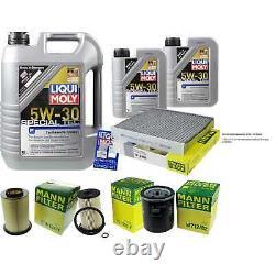 Révision D'Filtre LIQUI MOLY Huile 7L 5W-30 Pour Ford Focus II Break Taille