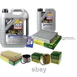 Révision Filtre LIQUI MOLY Huile 6L 5W-30 pour Volvo V50 Mw 2.0 D C30 Ms Ford