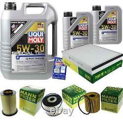 Révision Filtre LIQUI MOLY Huile 7L 5W-30 Pour Ford Focus III Break
