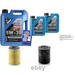 Révision Filtre LIQUI MOLY Huile 7L 5W-30 Pour Ford Franc-Tireur Uds Uns 2.7